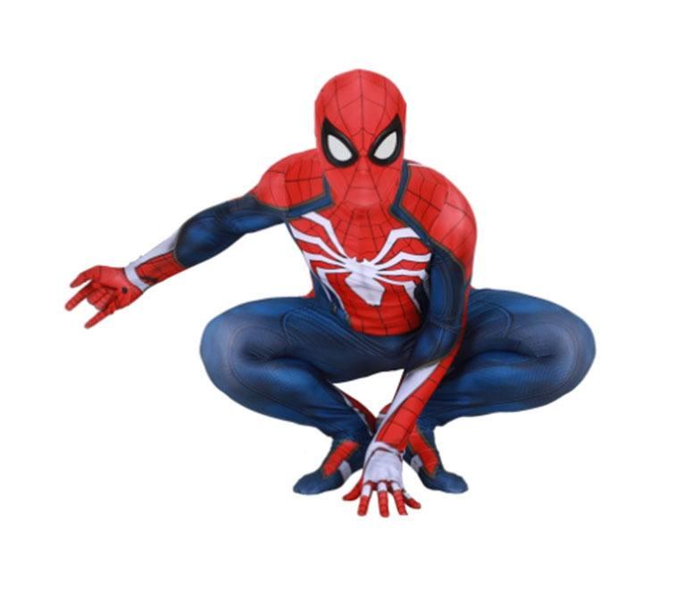Cosplay Homem Aranha de PS4