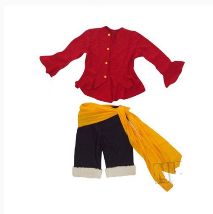 Cosplay Luffy Ruffy One Piece