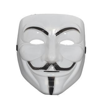Máscara V de Vingança Guy Fawkes Anonymous