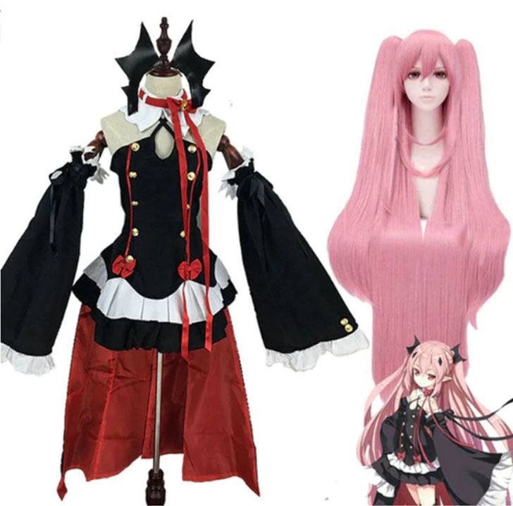 SET COSPLAY OWARI NO SERAPH THE KRUL TAPES