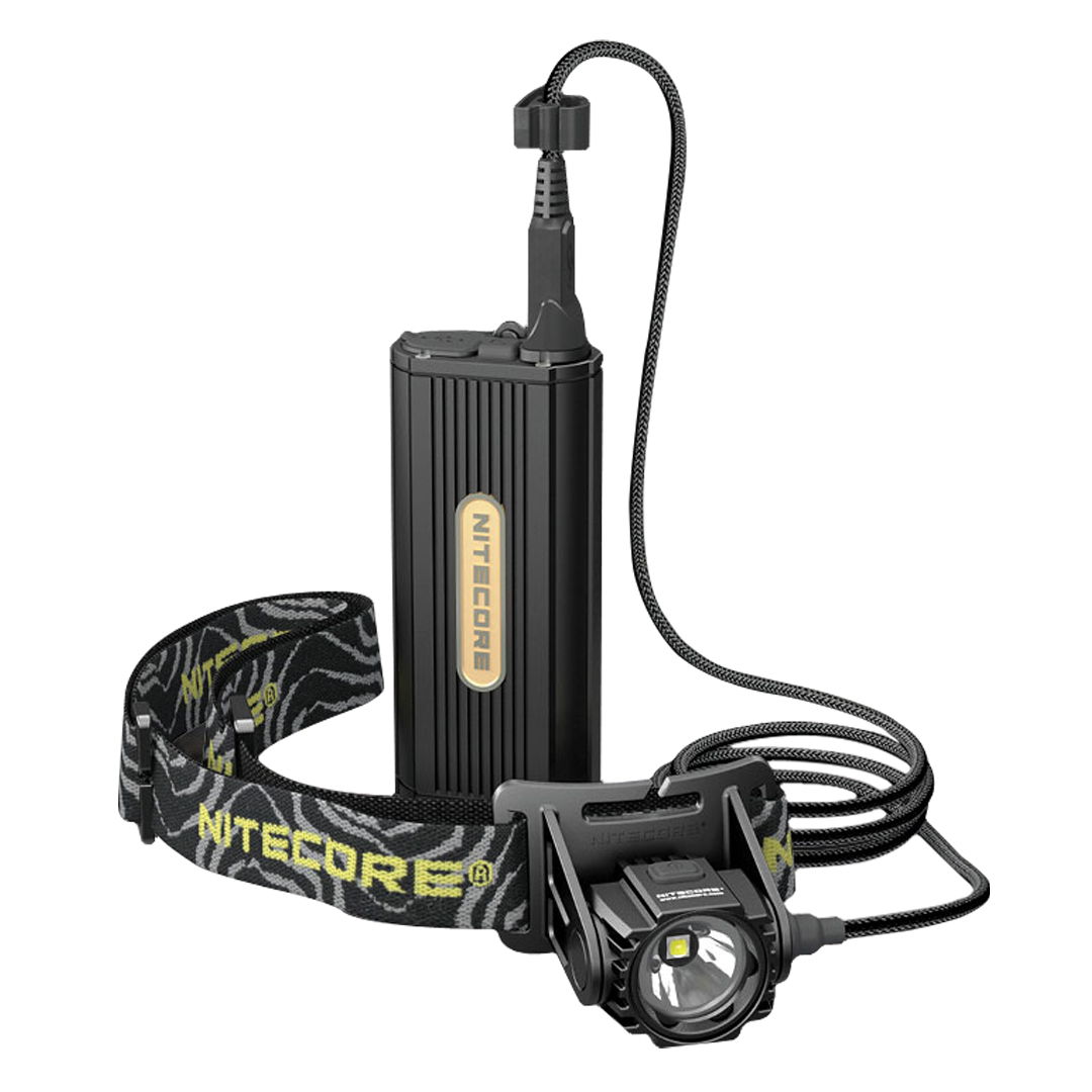 Nitecore Hc70 1000 Lumen Headlamp With External Battery Pack