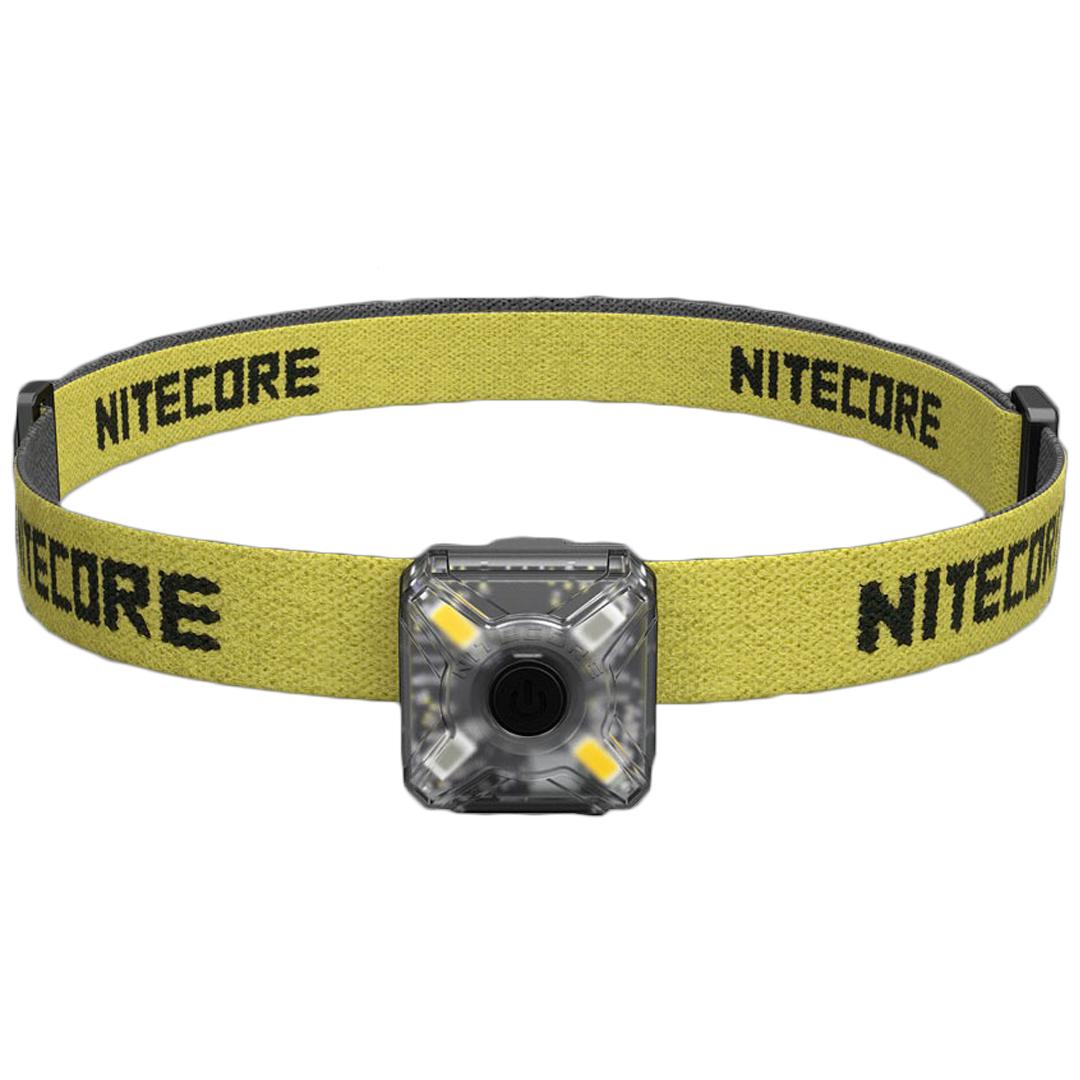 Nitecore Nu05 Kit WhiteandRed Usb Rechargeable Emergency Signal Headlamp