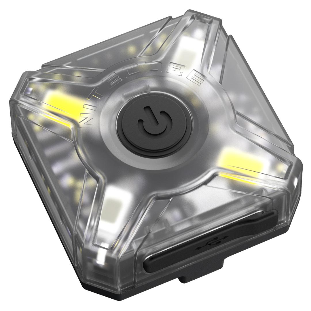 Nitecore Nu05 WhiteandRed Usb Rechargeable Emergency Signal Light