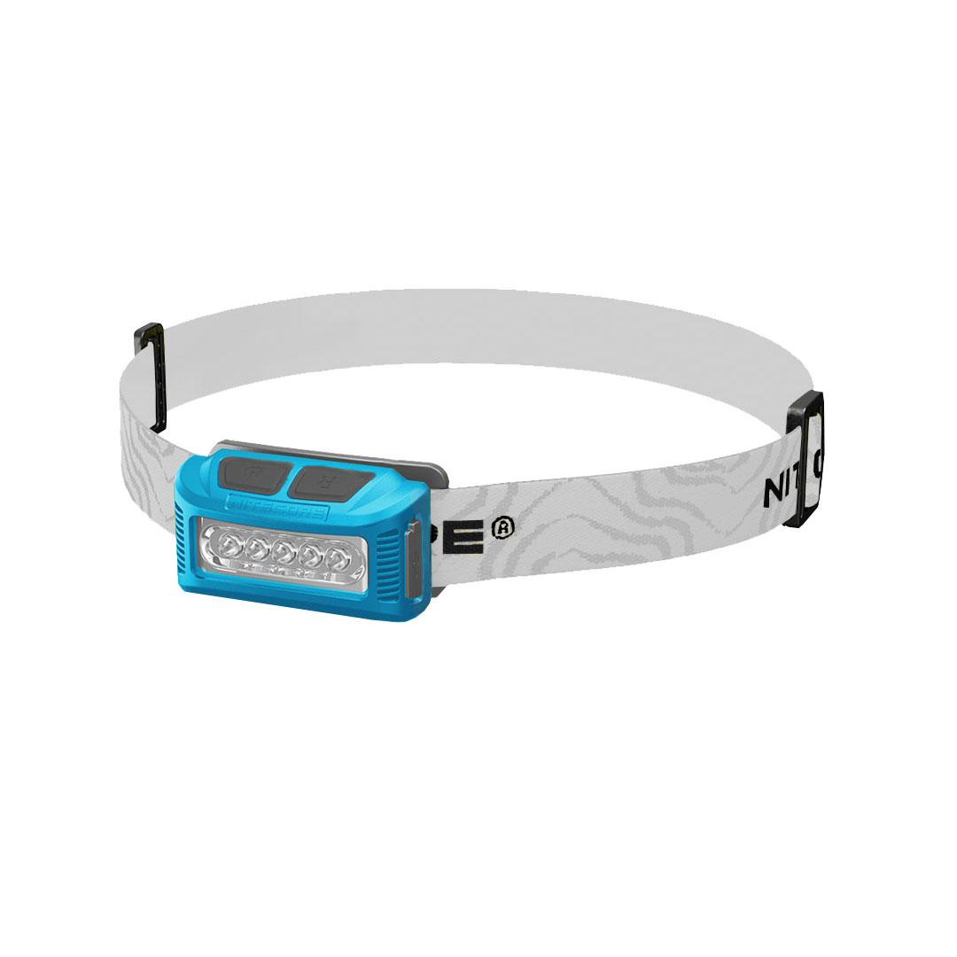 Nitecore Nu10 Rechargeable 160 Lumen Headlamp (blue)