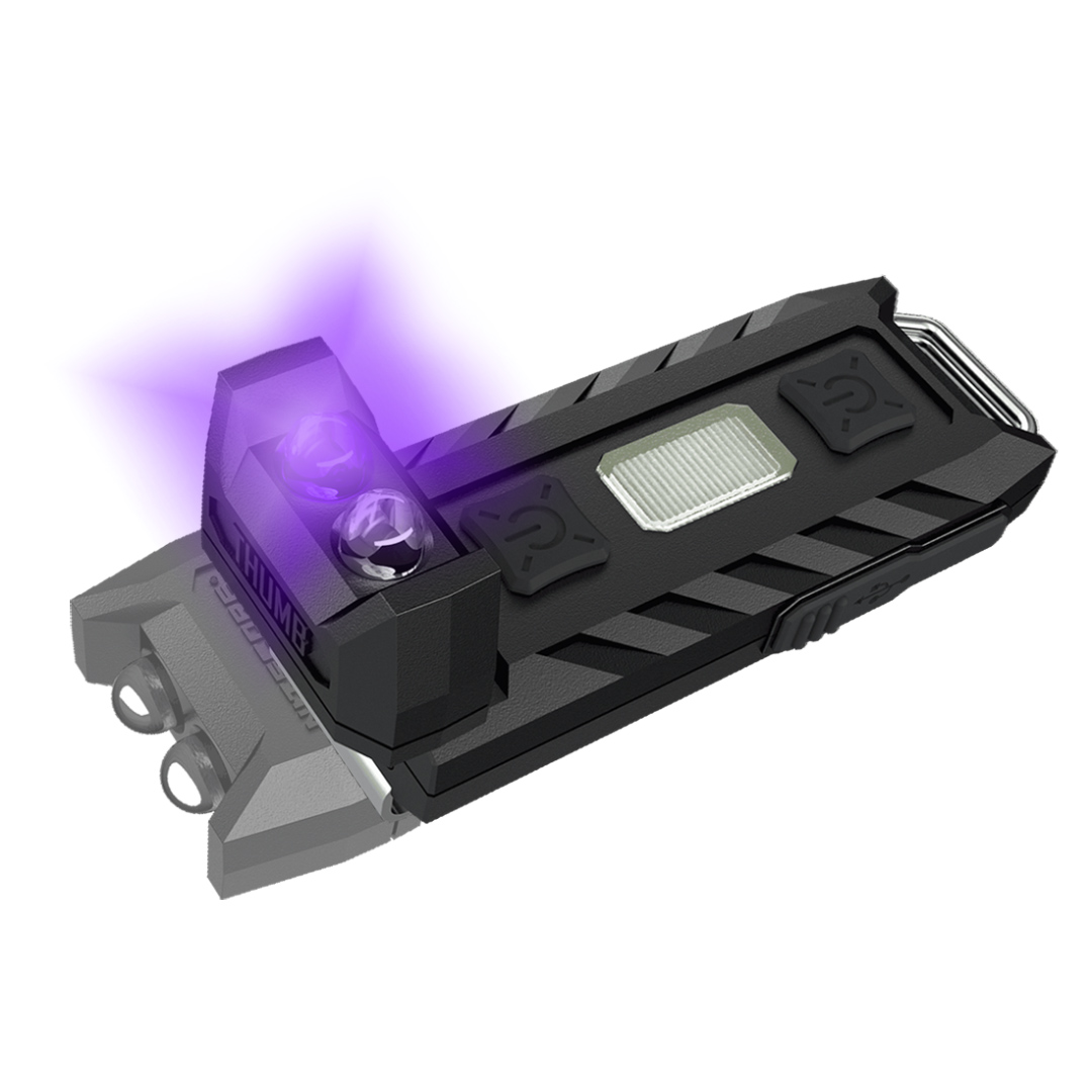 Nitecore Thumb Leo 45 Lumen WhiteandUv Keychain Light