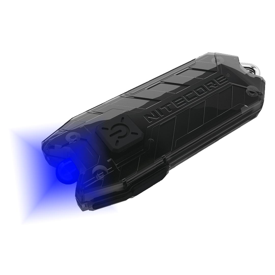 Nitecore Tube Bl 4 Lumen Blue Led Usb Rechargeable Led Keychain Light
