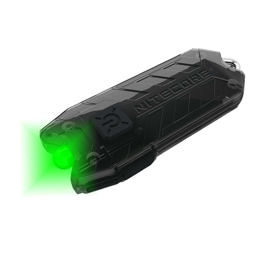 Nitecore Tube Gl 25 Lumen Green Led Usb Rechargeable Led Keychain Light