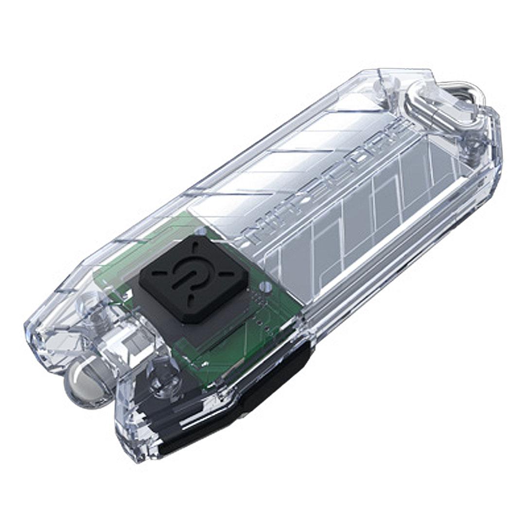 Nitecore Tube 45 Lumen Keychain Light (transparent)