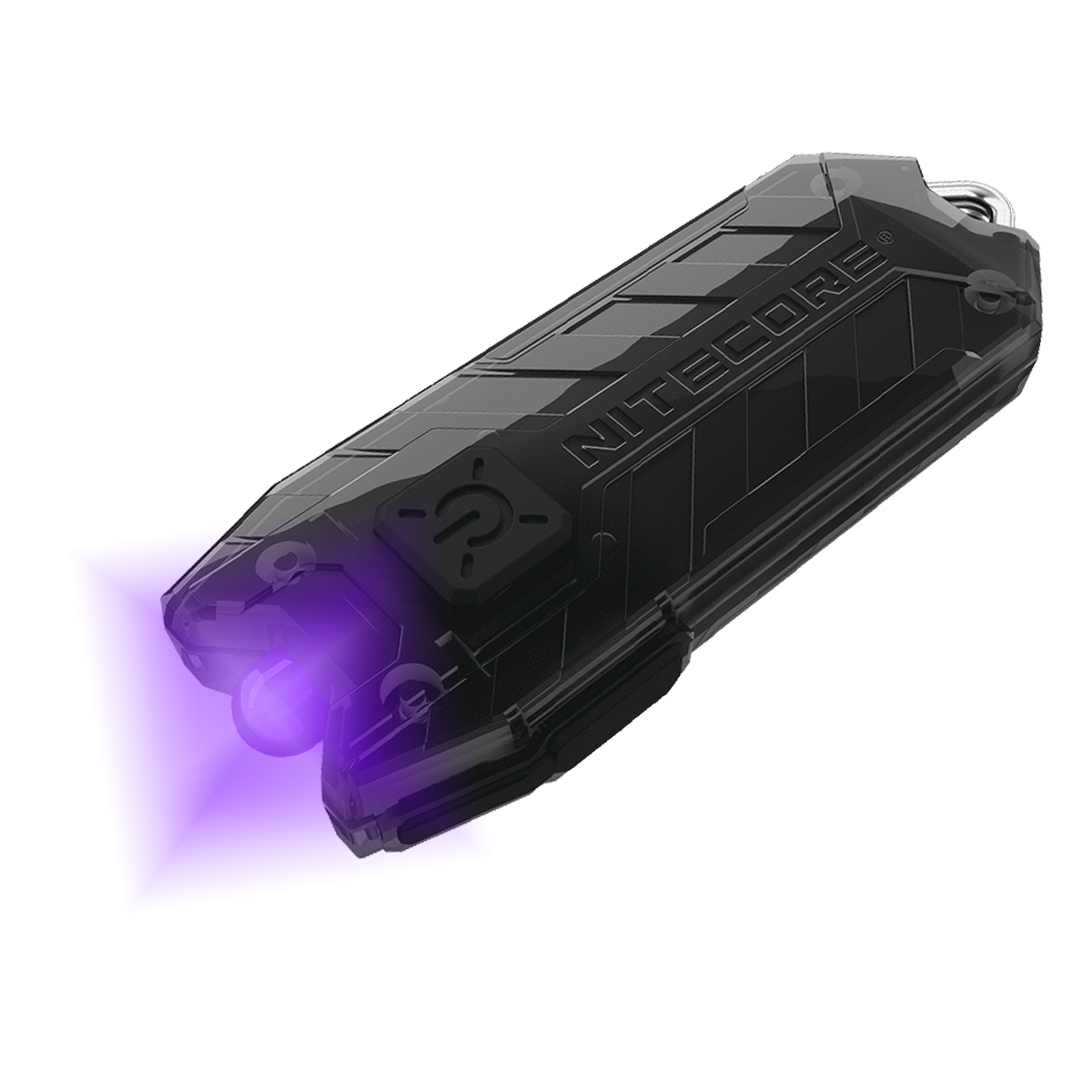 Nitecore Tube Uv 500nm Usb Rechargeable Ultraviolet Keychain Light
