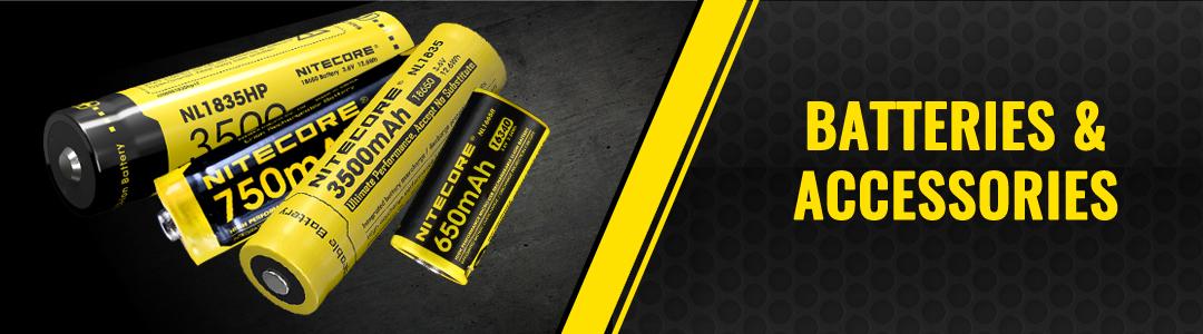 NITECORE flashlight batteries