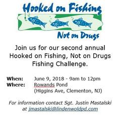 "Hooked on Fishing - Youth Fishing Challenge"" from Lindenwold"