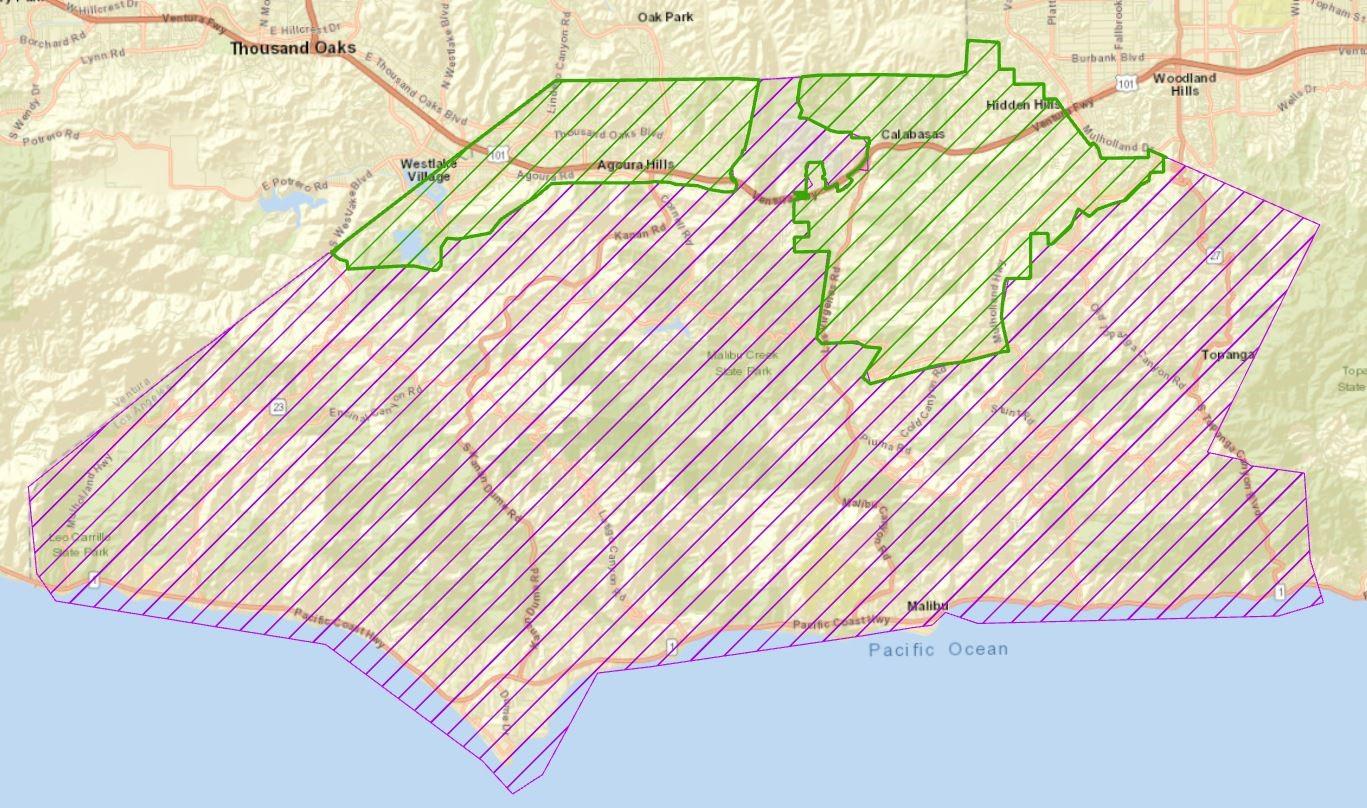 Woolsey Fire Repopulation From Lasd Malibu Lost Hills Station