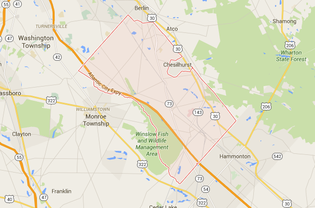 Winslow NJ DWI Attorneys DUI Lawyer In Winslow Township NJ - Acto new jersey us map