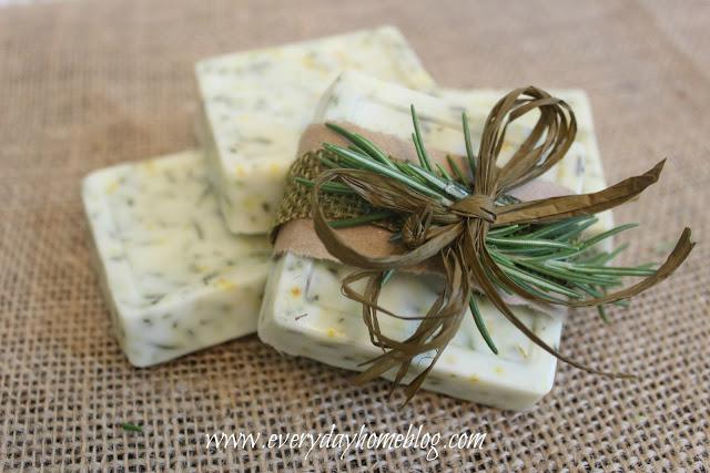 Rosemary-Citrus Goats Milk Soap