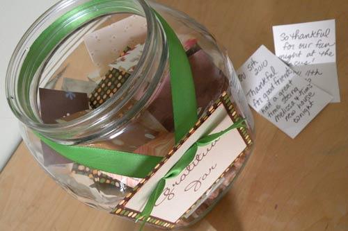 gratitude jar thanksgiving