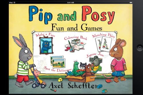 Pip and Posy Fun and Games App for Preschoolers