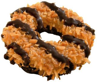 Samoa Girl Scout Cookie