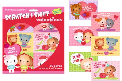 scratch n sniff card