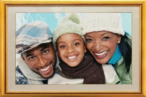 holiday family winter photo