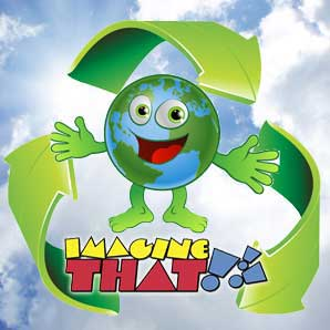 Going Green at Imagine That!!!