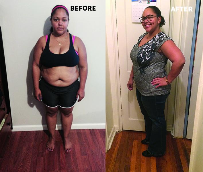 Bye-Bye, Baby Weight: Erica Thomas