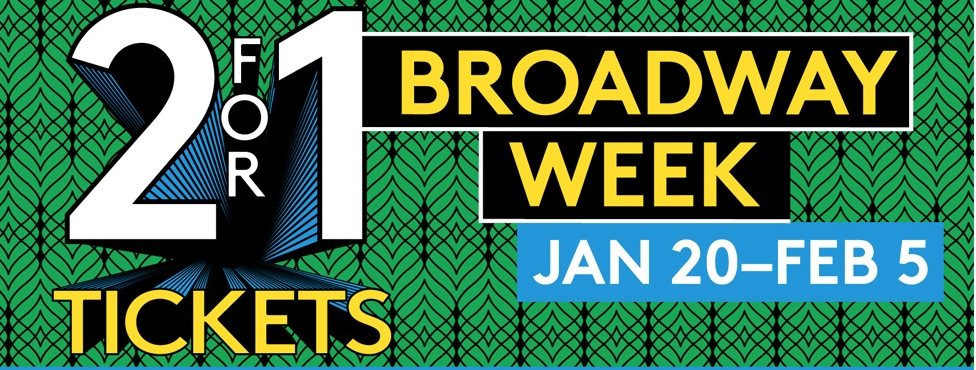 Get Great Deals on Shows During Broadway Week