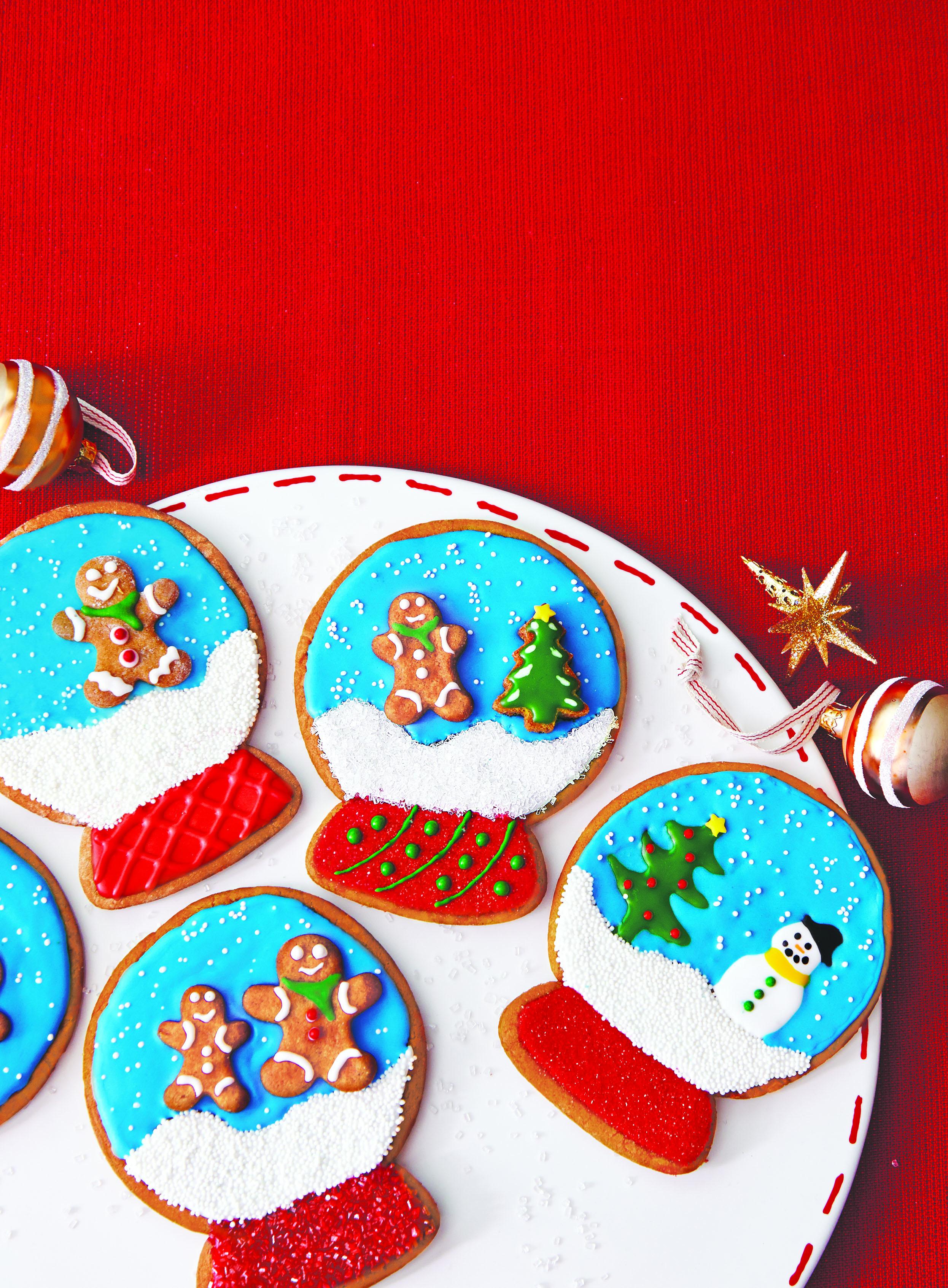 Snow Globe Cookies Nj Family
