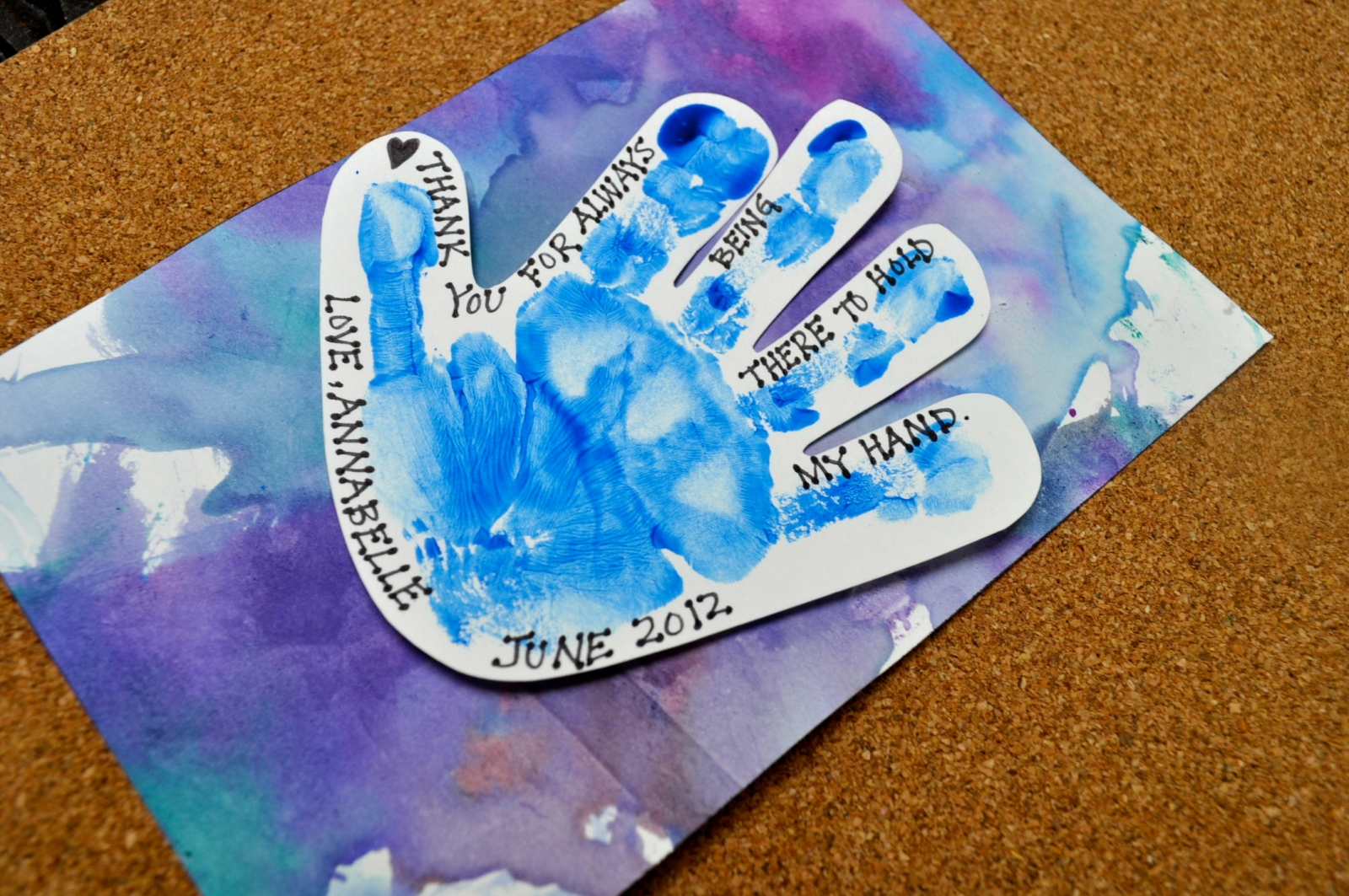 Father S Day Handprint Craft Nj Family
