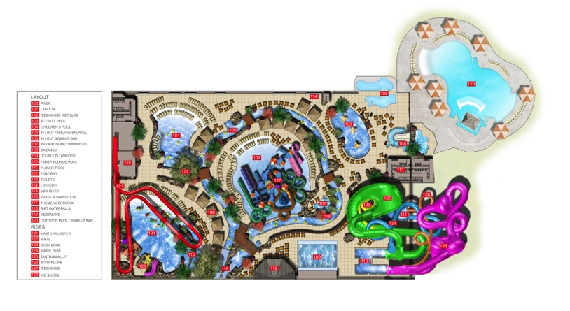 Kalahari: A Giant African-themed Water Park Set to Open in ... on