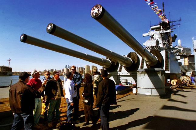 Visit Battleship New Jersey