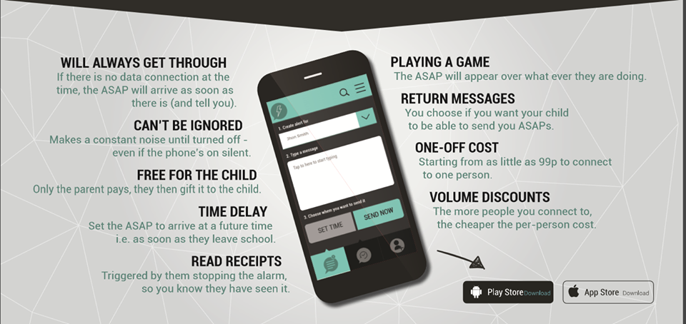 Image result for respond asap messaging app