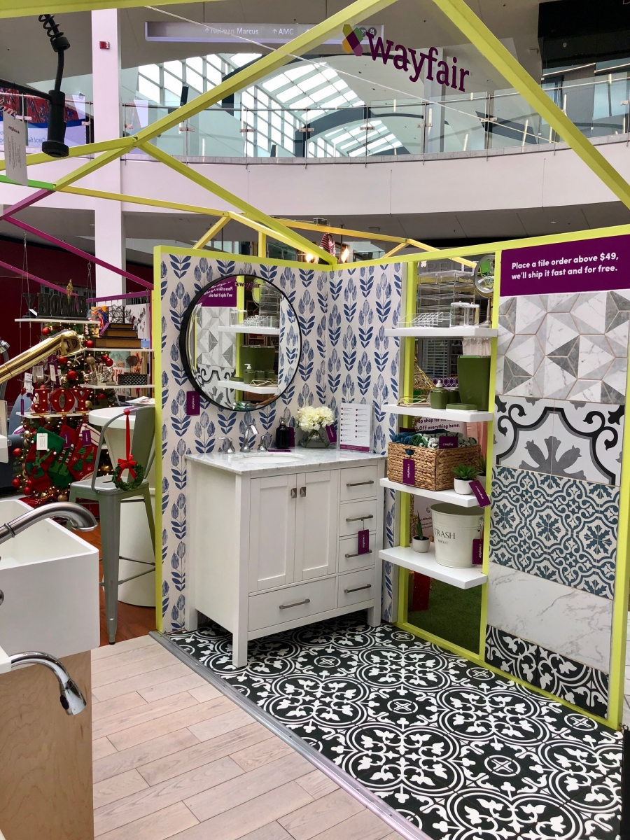 The home design gods heard you wayfair is opening a pop up shop in nj