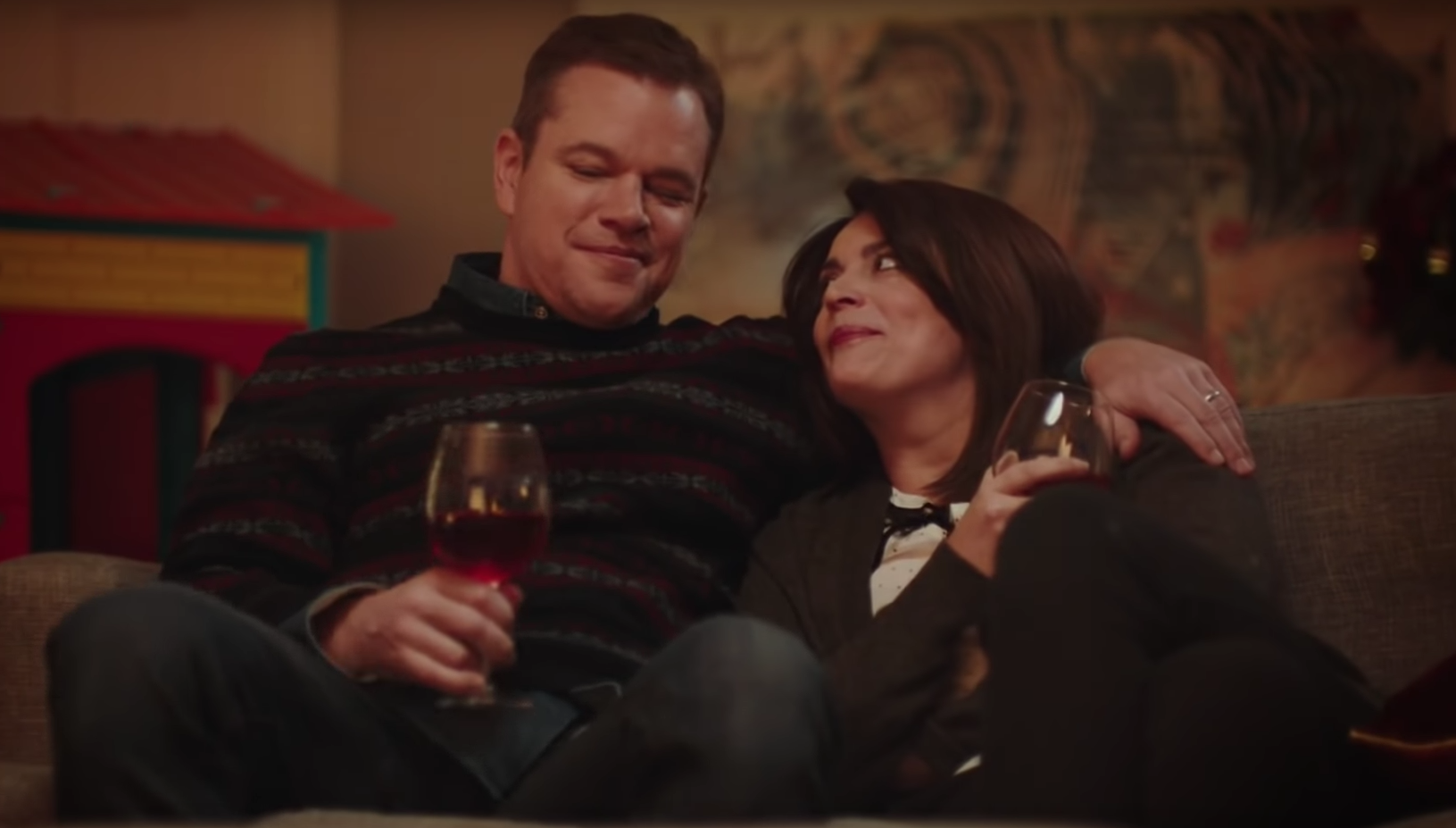 Snl Christmas Special 2019.Matt Damon S Snl Skit About Christmas With Kids Is The Truth