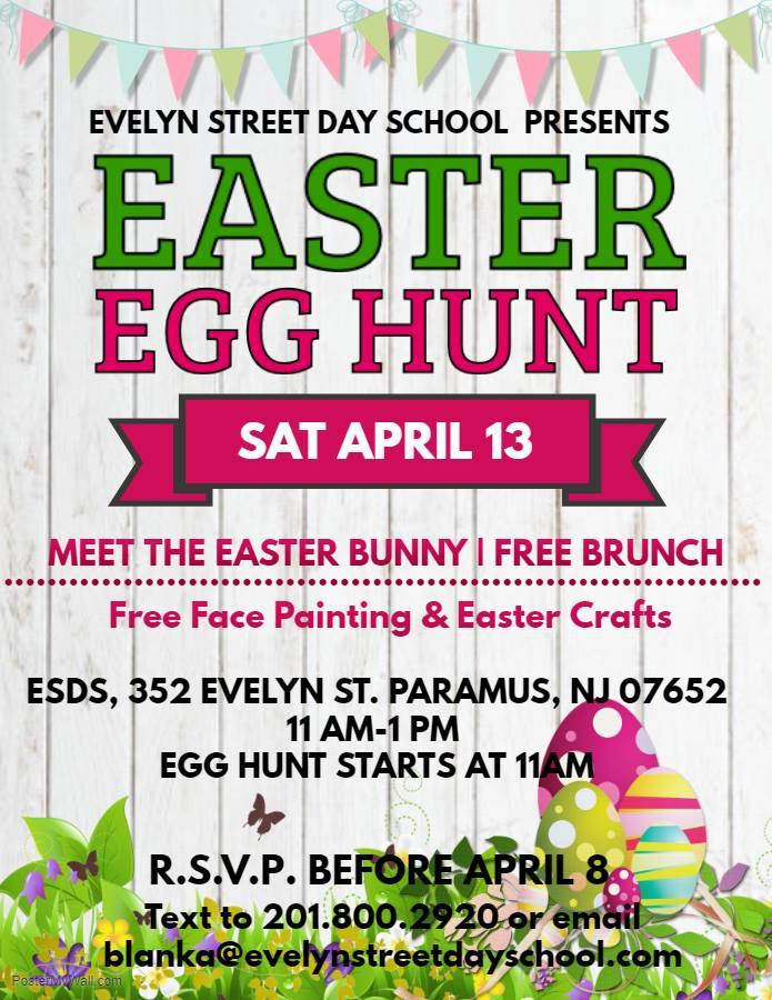 Easter Egg Hunt Paramus Evelyn