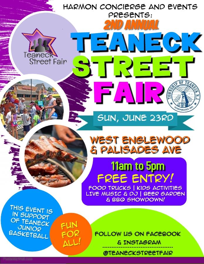 Englewood Street Fair 2020.2nd Annual Teaneck Street Fair Nj Family