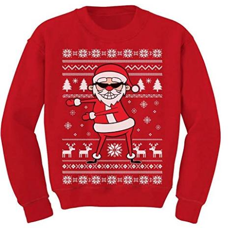 Marvel Boys Hulk Fair Isle Christmas Sweatshirt