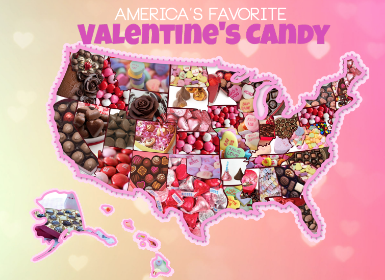 most popular Valentine's Day candy in NJ