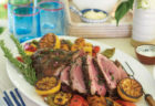 On the Easter Menu: Butterflied Leg of Lamb