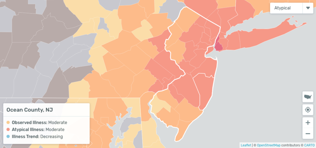 new jersey social distancing