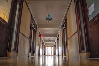 Hallway in the Netlandish office building