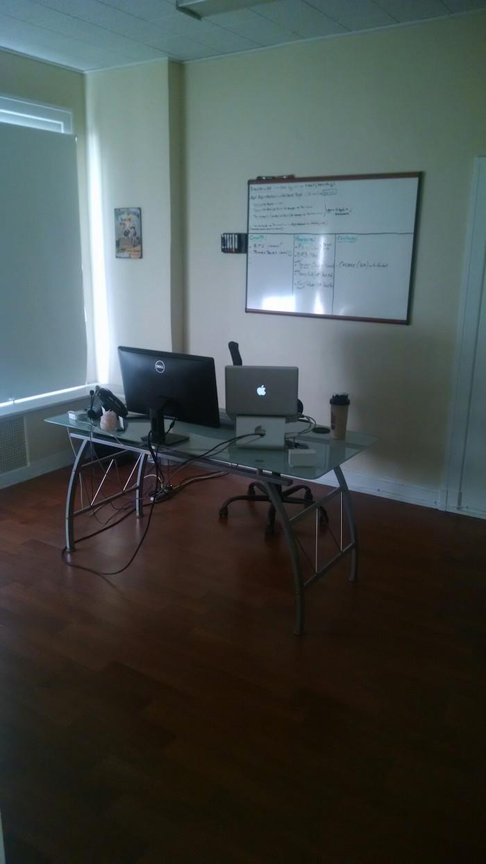 Hernan's Office