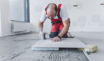 How to Lay Big Tile