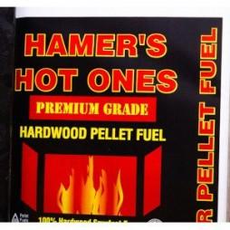 Hamer's Hot Ones Premium Grade Hardwood Pellet Fuel