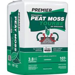 Premier Peat Moss 3.8 Cubic Foot