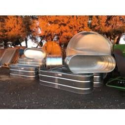 Tarter Galvanize Stock Tanks - Oval & Round