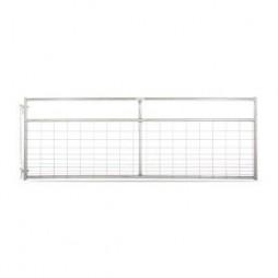 Tarter Watchman SC Galvanized Wire Mesh Gate