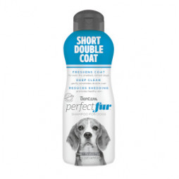 TropiClean PerfectFur™ Short Double Coat Shampoo For Dogs