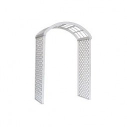 White Lattice Arch, Wide