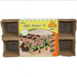Jiffy Organic Seed Starting 8 Biodegradable Peat Strips