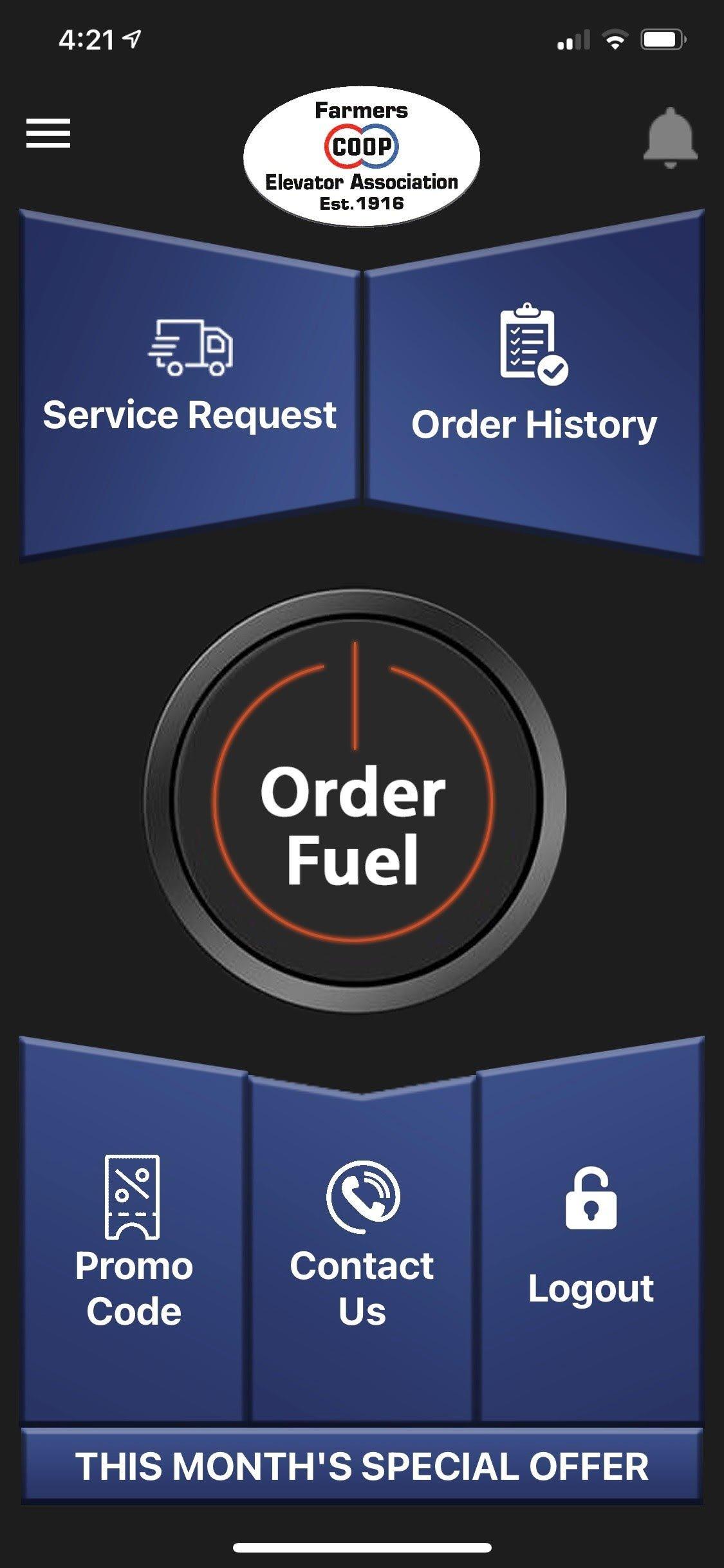Fuel Delivery App Image